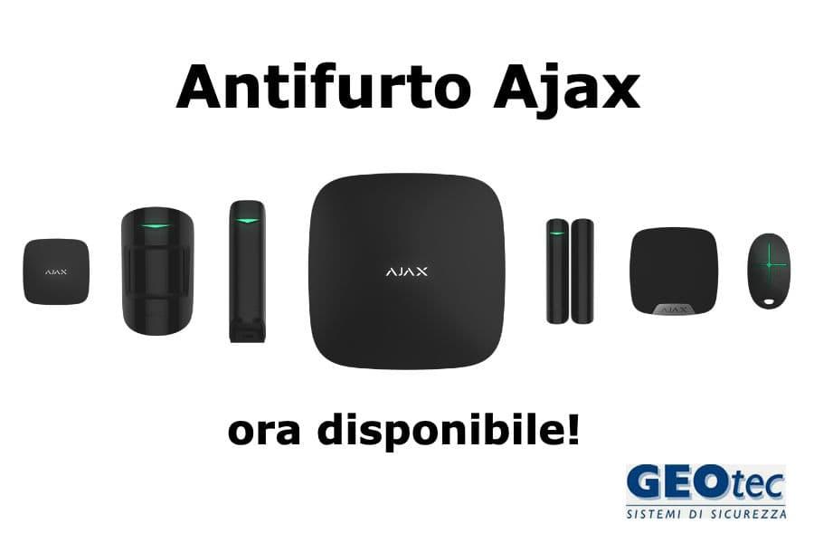 antifurto ajax geotec