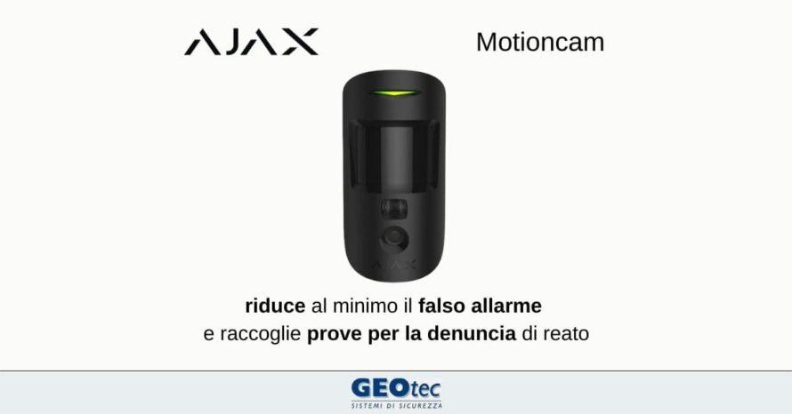 motioncam ajax systems