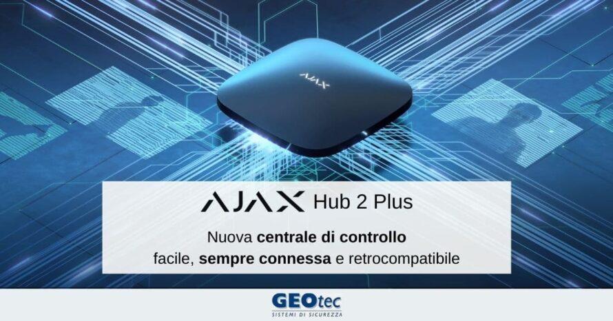 hub 2 plus centrale di controllo ajax systems